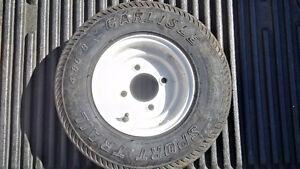 4.80-8 Carlisle Sport Trail Trailer Tire/Wheel Roue de Remorque