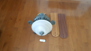 Hunter Ceiling Light/Fan with Remote