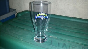 10 brand-new Granville Island beer glasses only $3 each.........