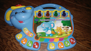 Vtech touch Elephant french francais