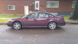 2003 Chevrolet impala. 1000$ as is.