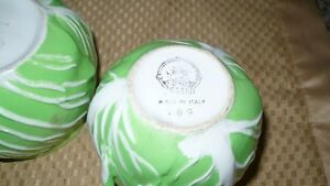 "VINTAGE ADORABLE ""ESTE ITALY"" CABBAGE SHAPED SUGAR & CREAM SET Kitchener / Waterloo Kitchener Area image 5"