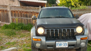 For sale 2002 jeep liberty