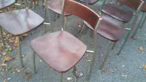 REDUCED!High Quality Wood and Metal Chairs 10$ each Kingston Kingston Area image 5