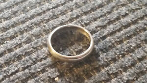 HAND CRAFTED COIN RING Sarnia Sarnia Area image 1