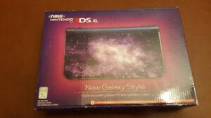 NEW Nintendo 3DS XL Édition Galaxy comme neuf avec jeux
