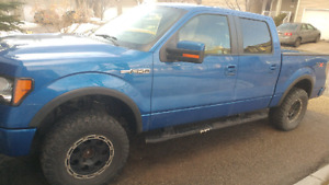 2011 ford f150 fx4 lifted on 33s