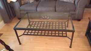 Ikea Granas metal Coffee Table and End Table set