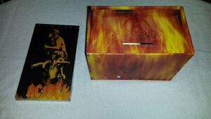 Aerosmith Box of Fire And AC/DC Bonfire *Great Christmas Gift
