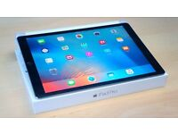 12.9-inch Apple iPad Pro Wi-Fi 128GB Cellular, Apple Pencil & Logitech CREATE Backlit Keyboard