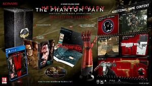 Metal gear solid V Phantom Pain PS4 Edition collection + Guide