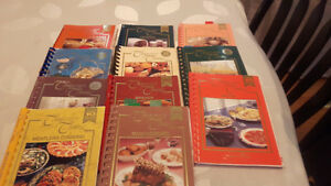 11 pieces company's coming recipe book