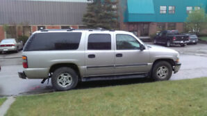 2006 Chevrolet Suburban 4x4 Leather Loaded