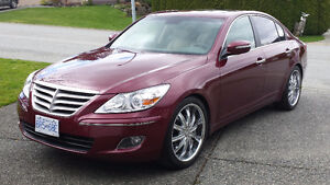 2011 HYUNDAI GENESIS 3.8 PREMIUM PACKAGE Sedan