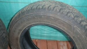GOOD YEAR WINTER TIRES 15 INCH  * LIKE NEW *