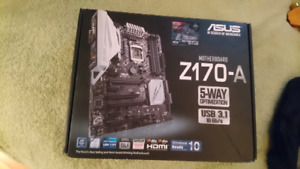 carte-mere - motherboard- *asus Z170-A
