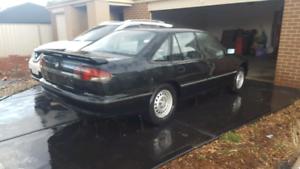 4x Holden stockies 15x6 wide rear tyres