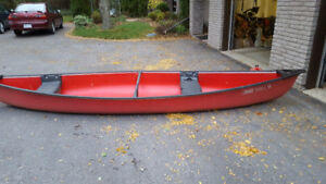 Used Coleman RAM-X 15 foot canoe