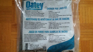 Oatey 41620C 5-ft x 6-ft PVC Shower Pan Liner