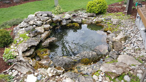 New Pond Install / New Water Feature Install London Ontario image 2