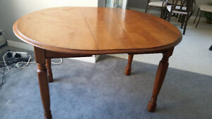 dinning table with leaf