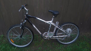 "26"" bikes with motor for sale  in very good shape London Ontario image 1"