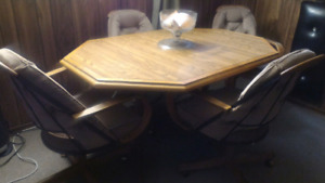 Dinning Table with 4 Chairs - Moving Sale