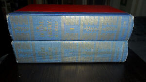 HG Wells 1949 volumes one and two
