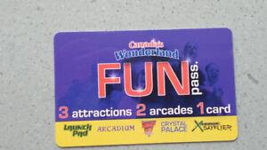 Fun Pass for Canada's wonderland