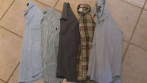 Size 7/8 dress shirts for boys - all excellent condition