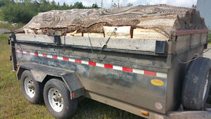 Firewood cut and split for sale!
