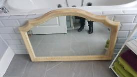 Lovely ornate large Mirror.