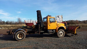 International 4800 All Wheel Drive with Plow