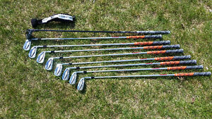 Cobra Forged Tec Iron Set 4-GW w/ KBS Shafts and  Biocell hybrid