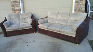 Matching Couch and Loveseat-Can Deliver