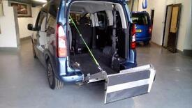 2013 Peugeot Partner 1.6HDi Tepee Automatic Disabled Wheelchair Access Vehicle