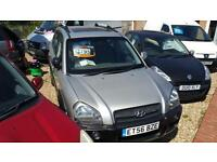 2007 Hyundai Tucson 2.0 16v ( 4WD ) CDX low miles only 67k