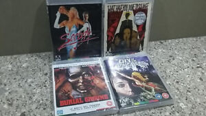 4X ARROW FILMS Blu-ray - City Of Living Dead/ Society/ Burial..
