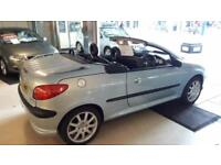 Peugeot 206 convertible 2002 only 47,938 genuine miles