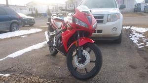 2007 Honda CBR125R- 4160Km-$1499 OBO.