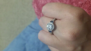Charmed aroma ring , worth $100