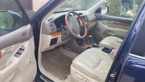LEXUS GX470 premium. 7 PASS, Cuir ,bluetooth, gps touch screen,