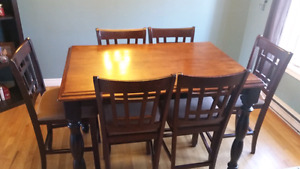 Pub table and chairs $450 ono