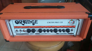 Orange crush l20 pro with footswitch