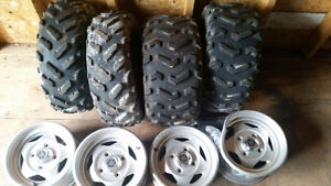 Barely used tires and rims