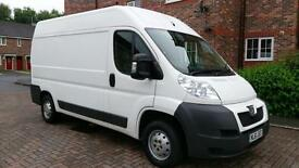 Peugeot Boxer 2.2HDi 130 335 L2 H2 WITH TAIL LIFT RAMP 1 OWNER F/S/H\\ NO VAT //