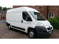 Peugeot Boxer 2.2HDi 130 335 L2 H2 WITH TAIL LIFT RAMP 1 OWNER F/S/H PRINT OUT /