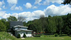 Maintained home on 17 acres with a private flowing pond! Kawartha Lakes Peterborough Area image 4