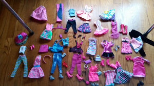 Barbie clothes and accessories