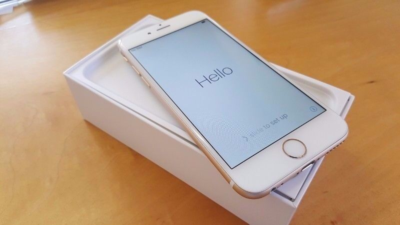 iPhone 6 PLUS 128gb gold unlocked [Immaculate conditionin GlasgowGumtree - iPhone 6 PLUS 128GB (highest spec for this model) 128GB MASSIVE STORAGE SPACE!! The phone as you can see is in pristine condition, always been in a case and well looked after. Unlocked (Any network) Fully working 6 Plus in gold 128gb comes with box...